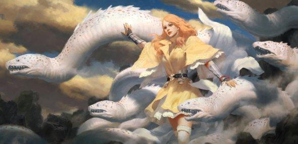 Heon Hwa Choe kilart artstation deviantart ilustrações fantasia games arte