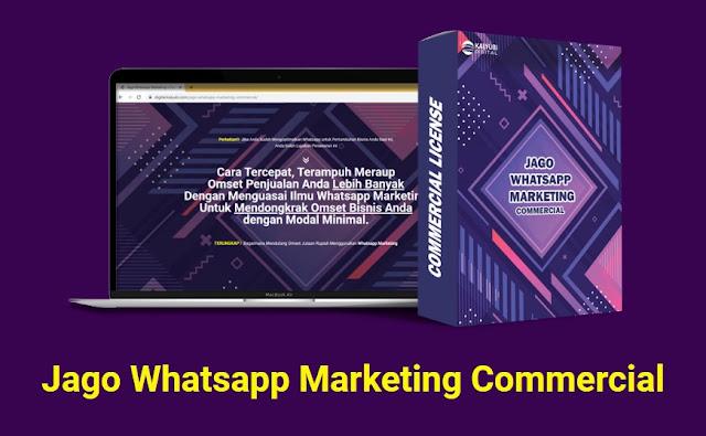 Jago Whatsapp Marketing Cara Tercepat, Terampuh Meraup Omset Penjualan Anda Lebih Banyak