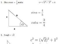 Contoh Soal Trigonometri Lengkap