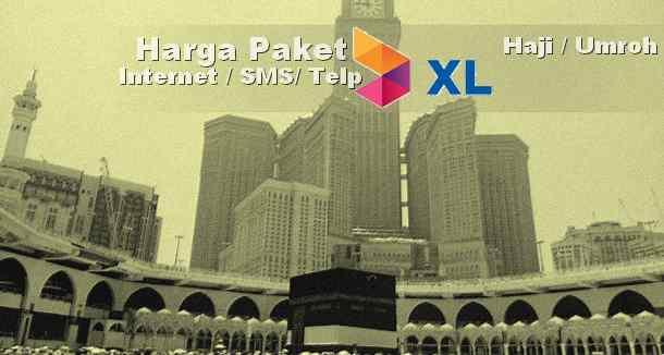 cara daftar paket Haji umroh kartu XL (internet,SMS, telepon)