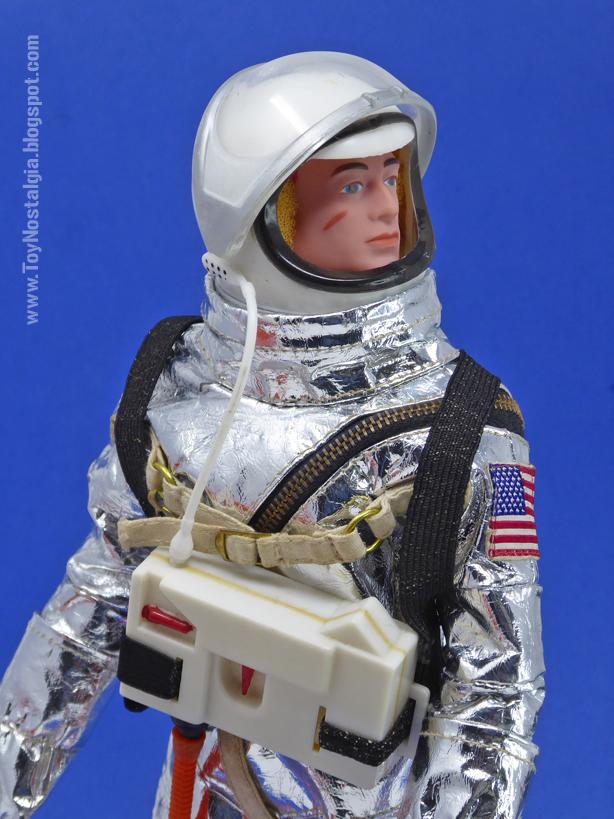 ACTIONMAN Astronauta Traje espacial MK4 + Unidad de soporte vital (ACTION MAN ASTRONAUT  HASBRO-PALITOY)