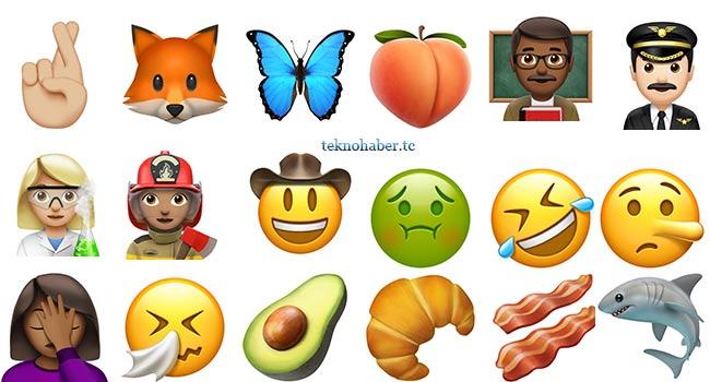 Yeni İOS Emojileri