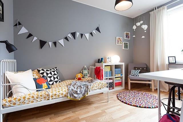 Hướng dẫn chọn màu sơn cho phòng ngủ của bé năm 2019