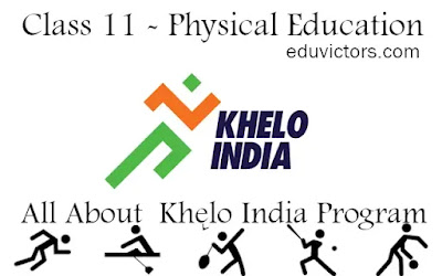 Class 11 - Physical Eduvcation - Khelo India Program (#class11PhysicalEducation) (#cbse2021) (#eduvictors)