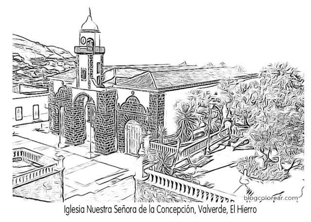 Iglesia Nuestra Señora de la Concepción, Valverde, El Hierro
