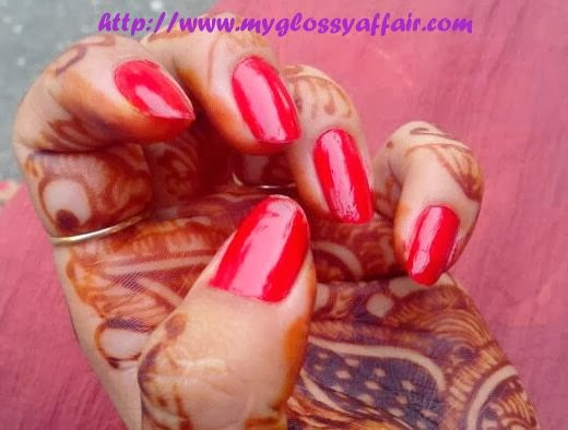 Street Wear Nail Paint in Bridal Red Review