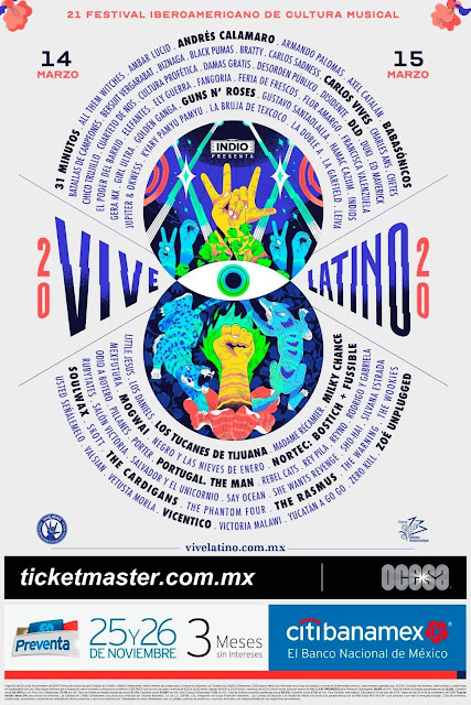 Cartel Vive Latino 2019