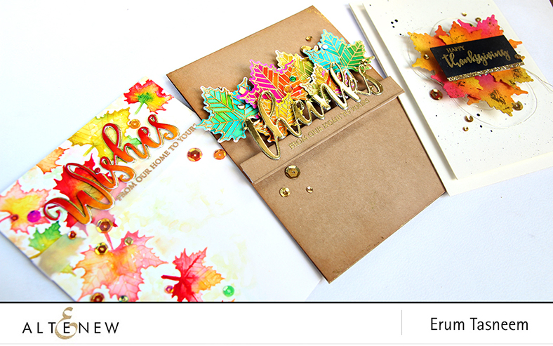 Altenew With Gratitude Stamp Set | Erum Tasneem | @pr0digy0