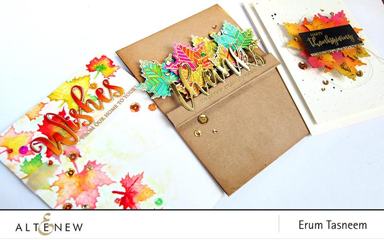Altenew With Gratitude Stamp Set | Erum Tasneem | @pr0digy0