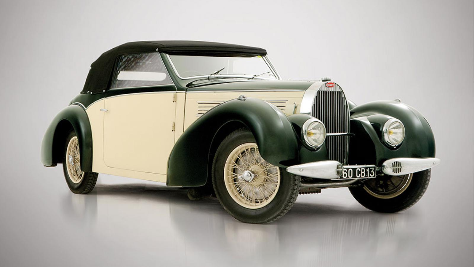 1939 Bugatti Type 57 Cabriolet by Gangloff - £ 520k