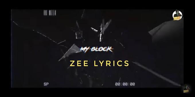 My block song lyrics | Sidhu Moosewala