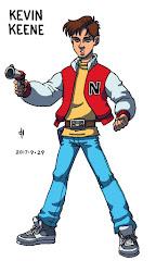 Captain N, Kevin Keene