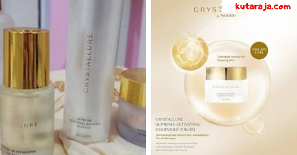 Review Crystallure By Wardah