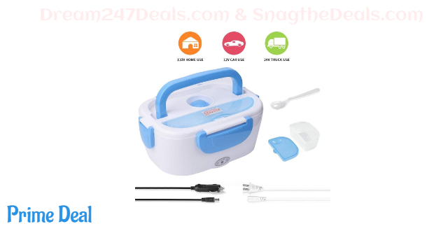40% off  BLUE Electric lunch box