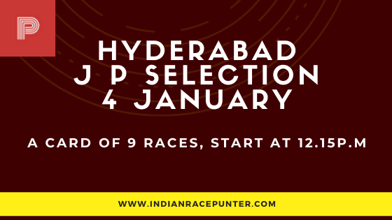 Hyderabad Jackpot Selections 4 January