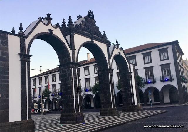 que ver en Ponta Delgada en las islas Azores