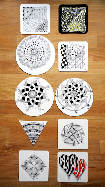 Zentangle Apprentice Project Pack A1