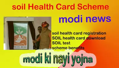 मृदा स्वास्थ्य कार्ड योजना / Soil Health Card Scheme