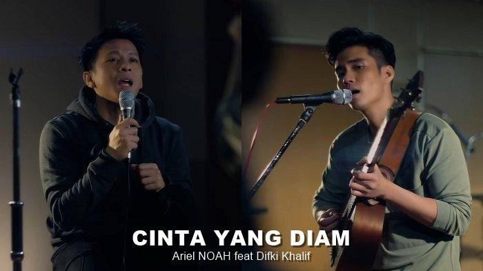 Lirik Lagu Cinta Yang Diam - Ariel NOAH feat Difki Khalif + MP3