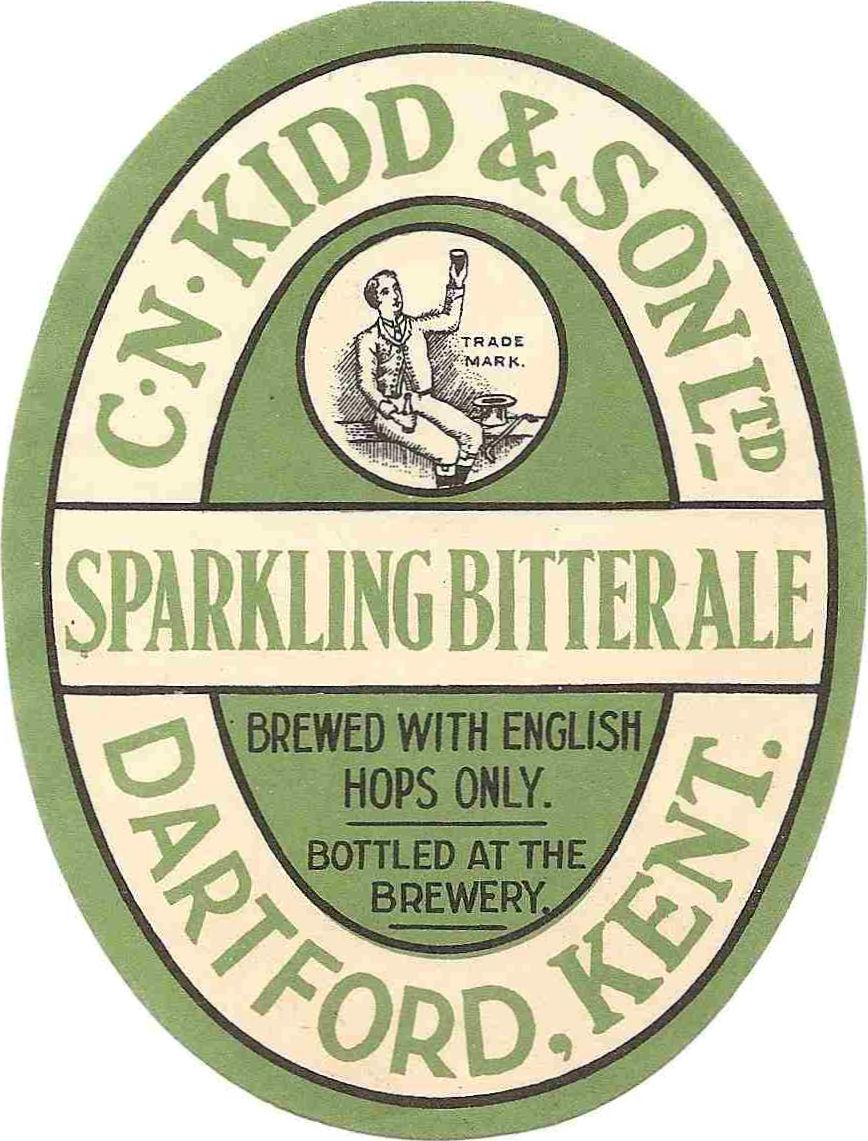 CN Kidd & Son Sparkling Bitter Ale logo