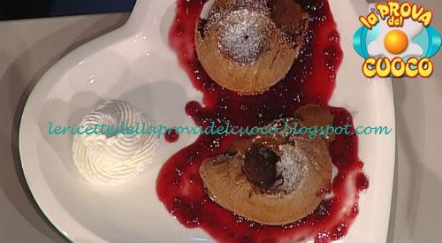 Tortino al cioccolato dal cuore morbido ricetta Moroni da Prova del Cuoco