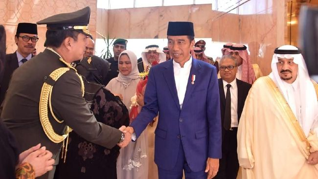 KPK: Barang Gratifikasi Jokowi Rp8,7 M Pemberian Raja Salman