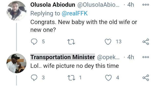 Fani-Kayode Announces Arrival Of Newborn