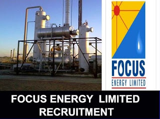 Diploma and B Tech Freshers Candidates Jobs in Focus Energy Limited  Oil and gas Industry For Jaisalmer, Rajasthan Location