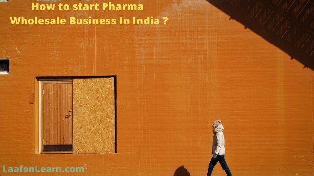 How to start pharma wholesale business in Hindi ? | मेडिसिन मार्केटिंग का बिजनेस कैसे शुरू करें  ?