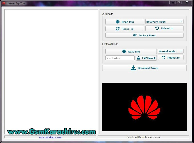 Huawei FRP Tool FRP Remove in Fastboot Mode