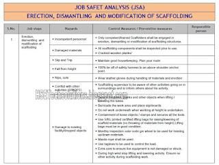 SCAFFOLDING JSA PDF