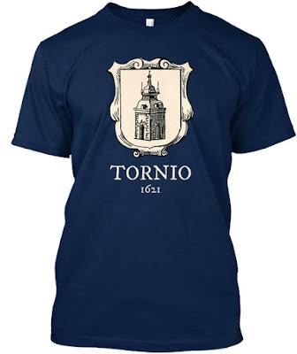 Tornio 1621 t-paita - Torniopaita