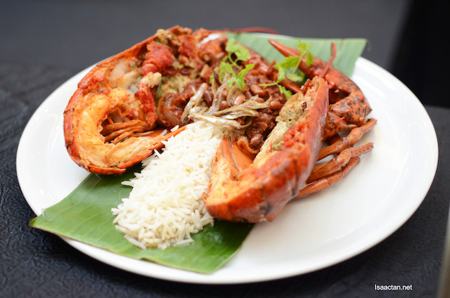 Nasi Lemak Lobster - Chef Muhamad Muhader (High Line)