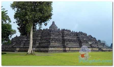 Sriwijaya: Borobudur, candi bercorak yang mampu menarik wisatawan berlokasi di Jawa Tengah