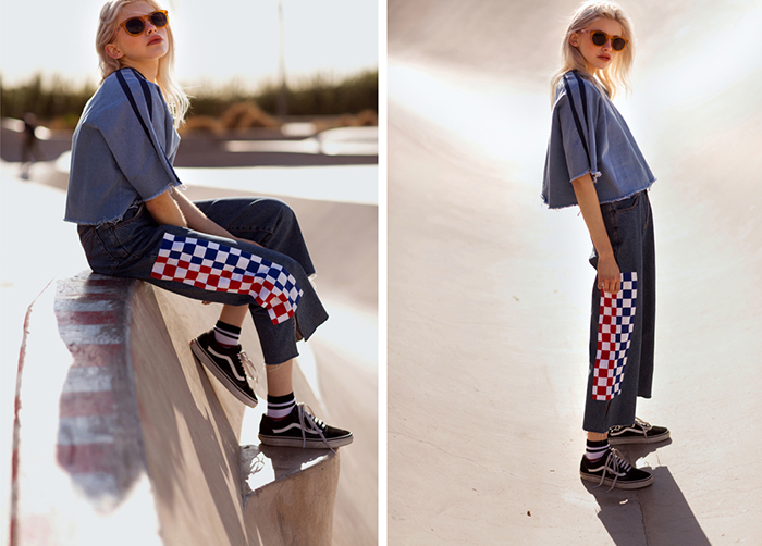 Rad clothing collection inspired by the skate scene