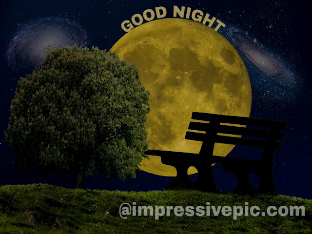 Natural good night image download for WhatsApp