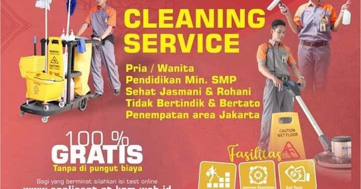 Lowongan Kerja Cleaning Service Pt Ksm Jakarta Sekitarnya Loker Swasta