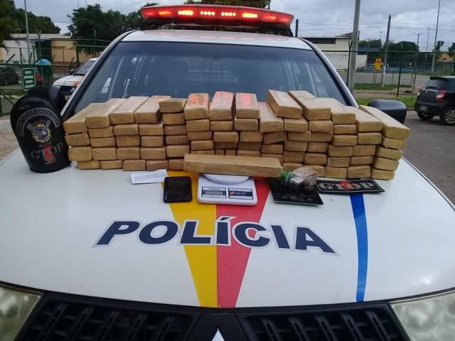 Polícia Militar apreende 70 kg de maconha em Ceilândia