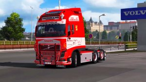 Volvo FH16 540 Fisotrans truck mod 2.0