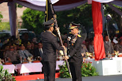 Penyerahan Panji-Panji Kepolisian Negara Republik Indonesia Tribrata