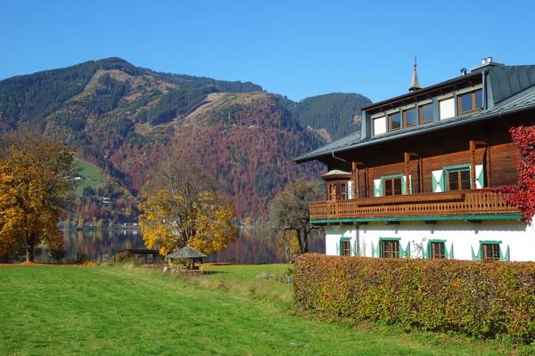 autriche salzbugerland zell am see lac chalet