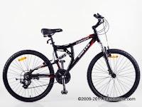 Sepeda Gunung UNITED COMMAND FX73 ALLOY - FullSus XC Series