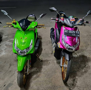 Modifikasi Honda Beat streat