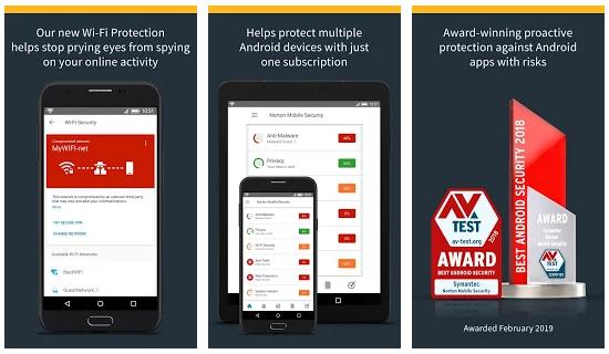 Screenshot Norton Mobile Security and Antivirus v4.6.1.4420 Premium
