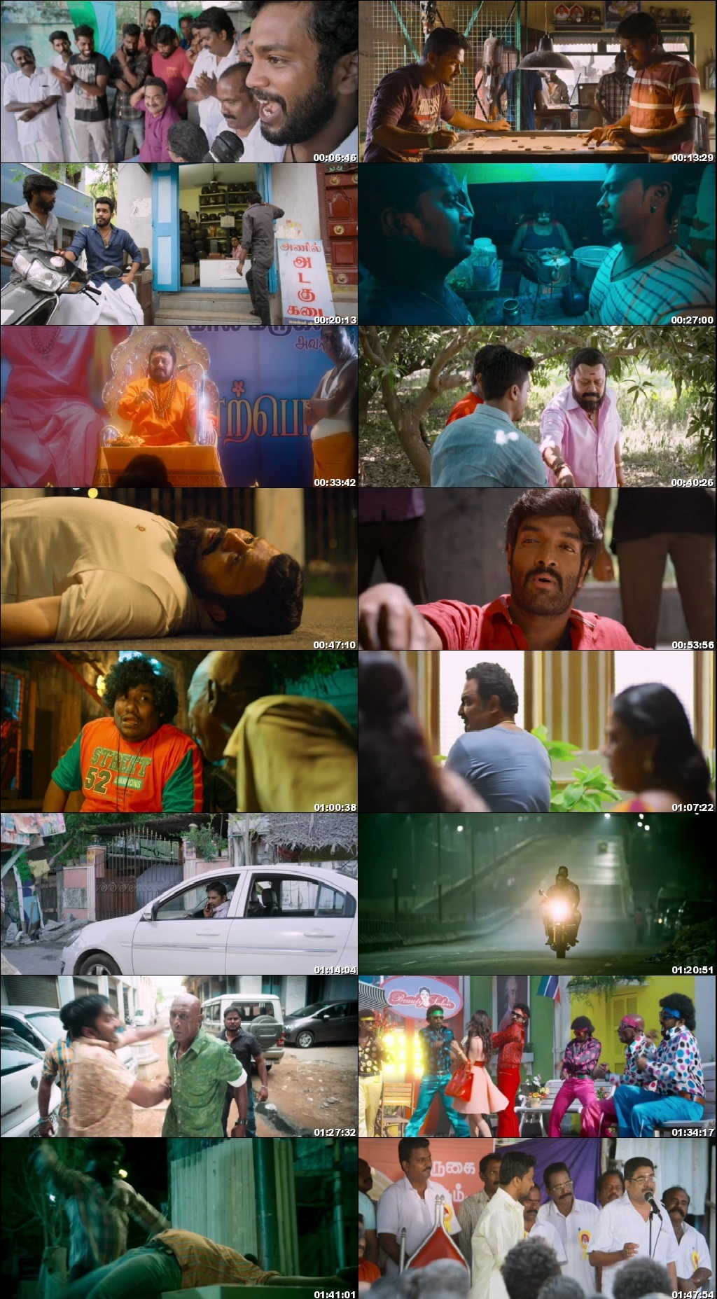 Screen Shot Of Veera 2018 300MB Full Movie Hindi Dubbed Free Download 480P BRRip Small Size PC Movie