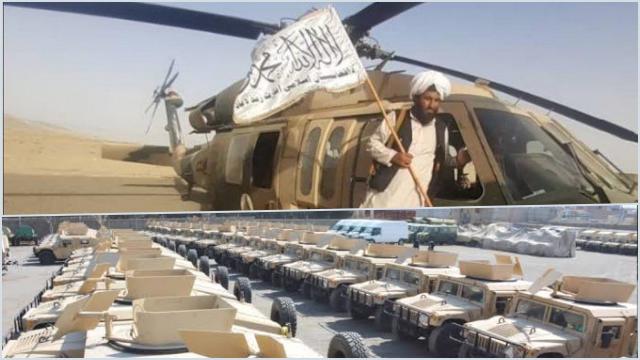 Taliban Bukan Lagi Sekelompok Tentara Bobrok, Black Hawk dan Humvee Peninggalan AS Kini di Tangannya