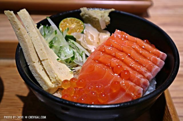 IMG 8271 - 台中北屯│丼丼亭*丼飯咖哩飯生魚片與沙拉。午間限定套餐更便宜喔