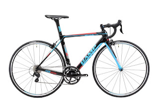 Sepeda Balap Carbon Camp 105 2x11speed Black Blue