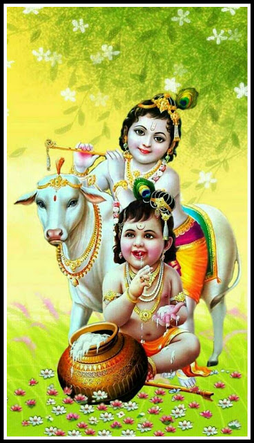 cute krishna images hd