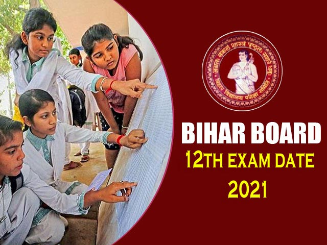 Bihar Board Exam Time Table 2021